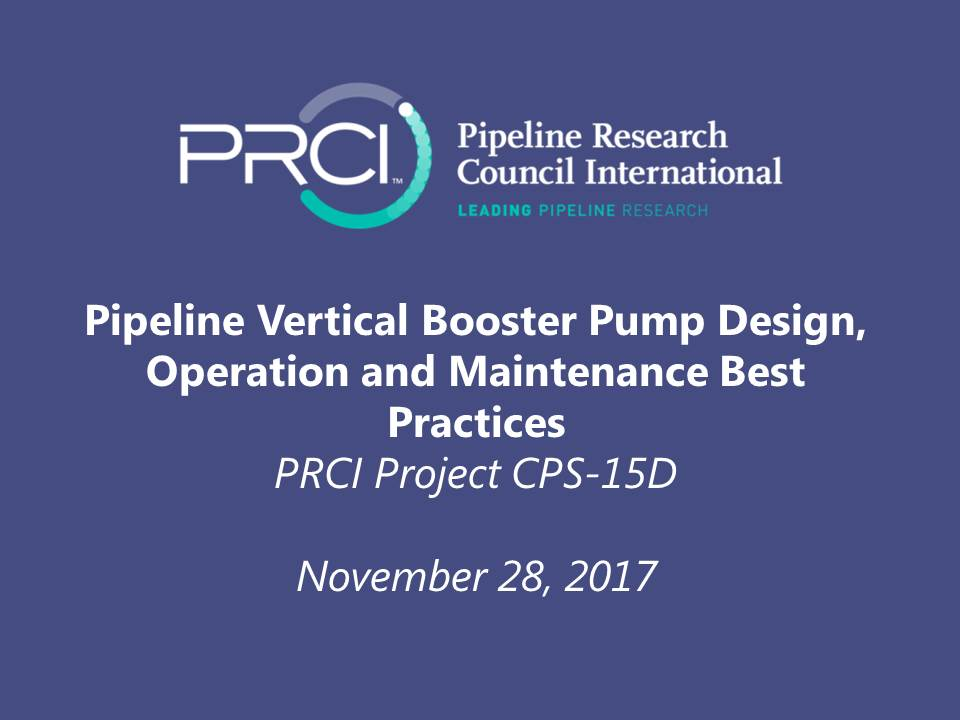 WEBINAR (RECORDING): Pipeline Vertical Booster Pump Design, Operation and Maintenance Best Practices (CPS-15D)