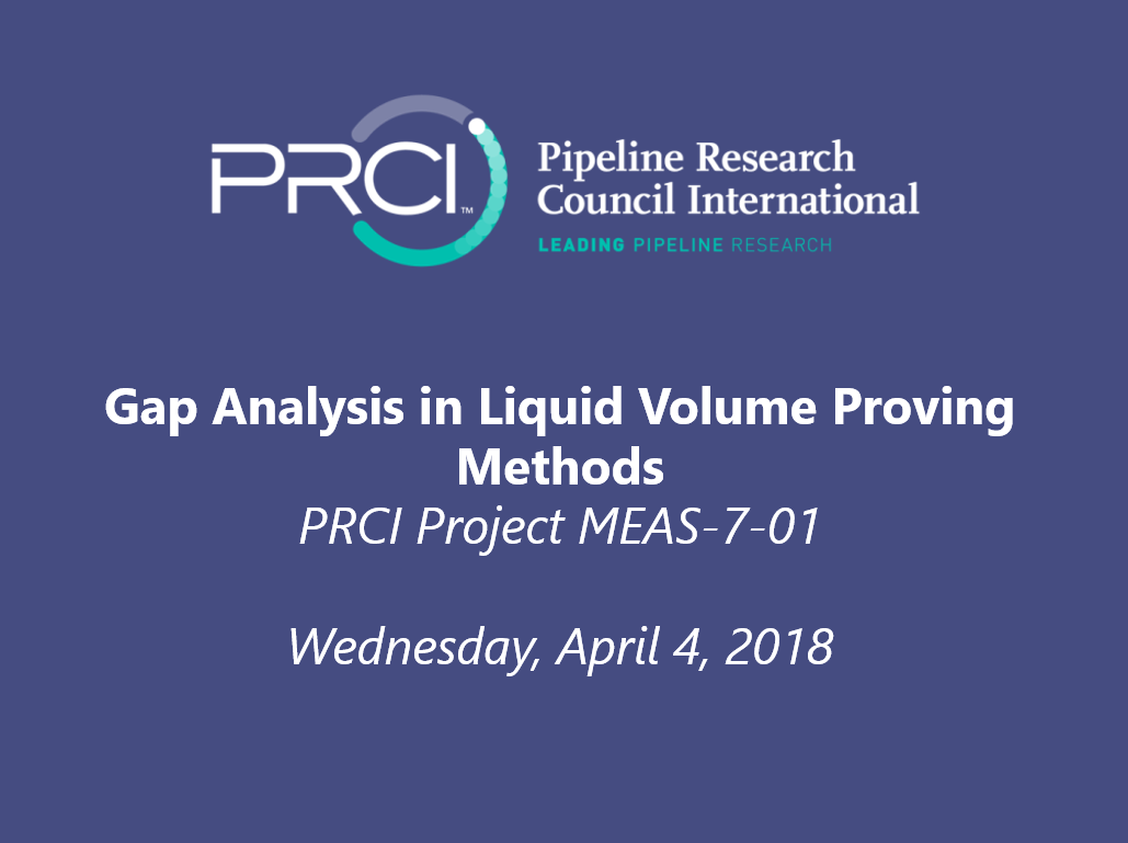 WEBINAR: Gap Analysis in Liquid Volume Proving Methods (MEAS-7-1)
