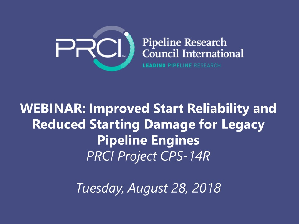 WEBINAR (RECORDING): Improved Start Reliability and Reduced Starting Damage for Legacy Pipeline Engines