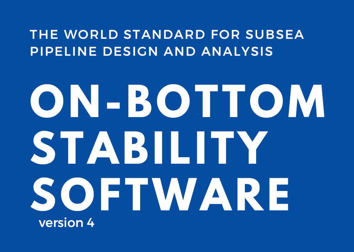 PRCI Releases Major Upgrade for the On-bottom Stability Software Tool