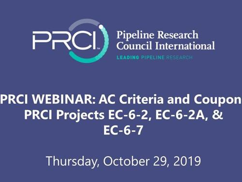 PRCI WEBINAR (RECORDING): AC Criteria and Coupons