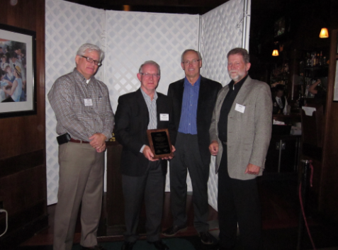 PRCI Honors Brian Woodhouse at TC Meeting