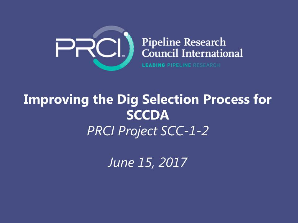 WEBINAR (RECORDING): Improving the Dig Selection Process for SCCDA (Project SCC-1-2)