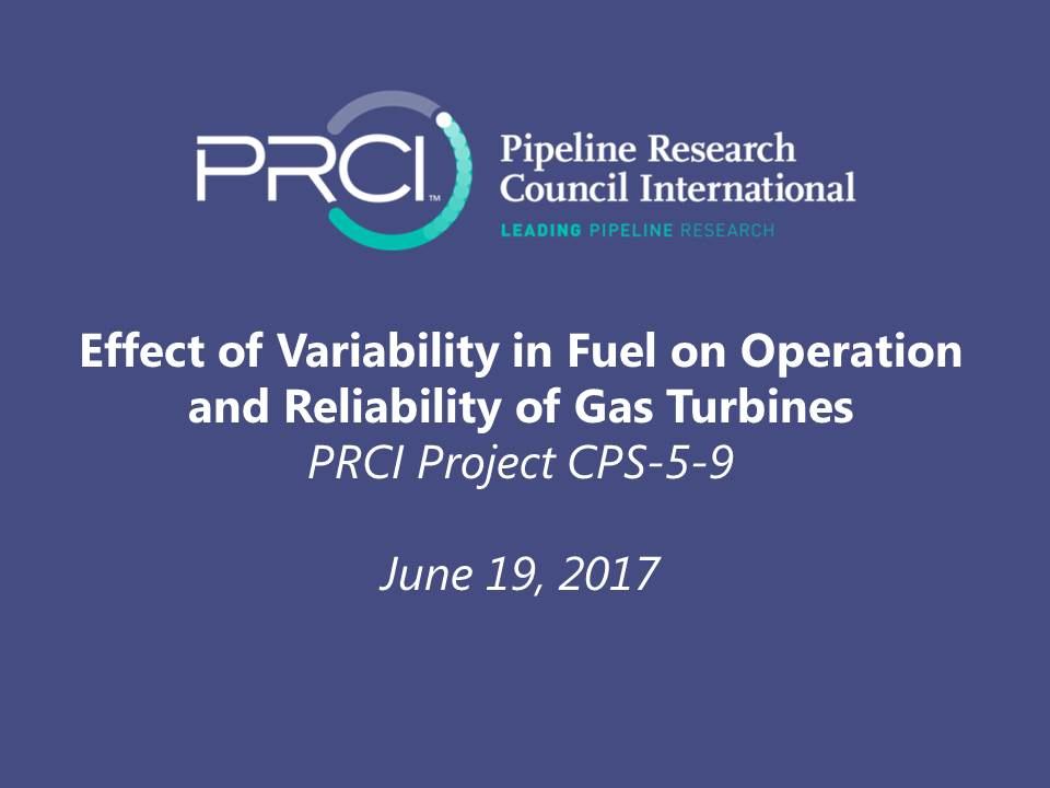 WEBINAR (RECORDING): Effect of Variability in Fuel on Operation and Reliability of Gas Turbines (CPS-5-9)